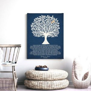 Gift from Groom | Mother of Bride Gift | Wedding Day Gift | Thank You Gift | Personalized | Gift From Son in Law Custom Art Print #LT-1119