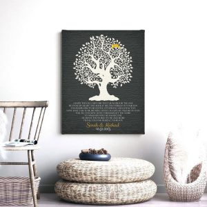 Gift for Mother In Law | Gift from Bride | Mothers Day Gift | From Daughter In Law | Mother Poem | Tree with Roots | Custom Art Print LT1124