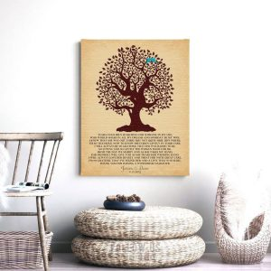 Thank You Gift For Mother of Bride | Gift From Groom | Years I Had Been Searching | Poem Tree | Gift For In-Laws Custom Art Print #LT-1127
