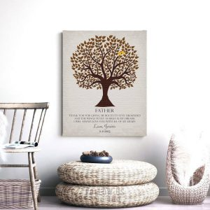 Pesonalized Gift For Father | Gift for Dad | Gift From Son | Father's Day | Birthday Gift for Dad | Thank You Gift Custom Art Print #LT-1144