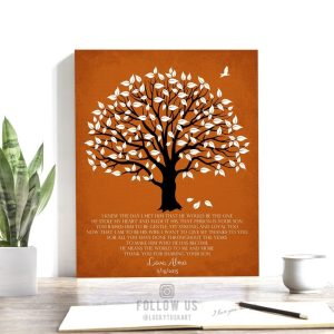 Mother In Law Gift | Gift from Bride | Wedding Day Gift | Mother of Groom Gift | Thank You Poem | Magnolia Tree | Custom Art Print #LT-1147