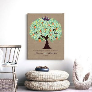 First Christmas Gift | Gift for Couple | Partridge | In a Pear Tree | Christmas Wedding Gift | Christmas Marriage | Gift For Couple #1183