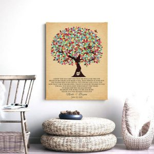 Mother of Groom Gift | Gift from Bride | Thank You | Mother In Law Gift | Wedding Day Gift | Wedding Tree | Thank You Poem Custom Art #1203