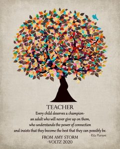 Read more about the article Custom Gift for Teacher Art Proof for Amy S.