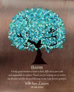 Custom Mentor Gift Art Proof for Barb M.