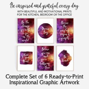 Instant Download – Inspirational Art Digital Download Bundle