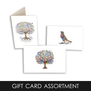 Assorted Watercolor Note Cards – Set of 12
