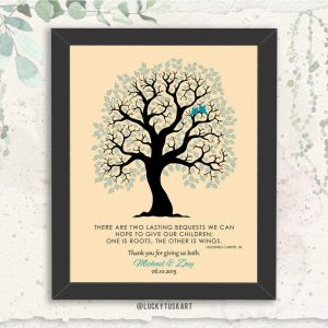 Hodding Carter Jr Quote Two Lasting Bequests Personalized Gift For Parents Custom Art Print #1334