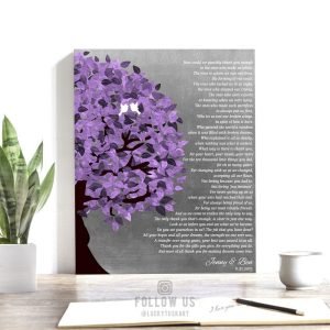 Personalized Gift for Mom and Dad How Could We Ever Thank You Gift For Parents Wedding Day Poem Custom Art Print on Paper Canvas Metal 1485