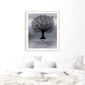 Gift For Dad A Father Holds His Daughter's Hand Wedding Day Gift From Daughter To Father Custom Art Print 1351