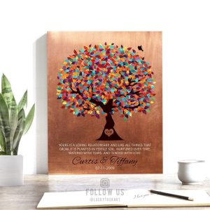 Personalized Gift For Couple Yours Is A Loving Relationship Fertile Soil Nurtured Tears Love Custom Art Print 1399