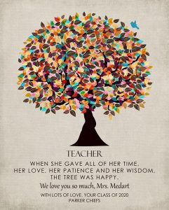Custom Gift for Teacher Art Proof for Jennifer S.