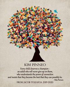 Custom Gift for Teacher Art Proof for Kim P.