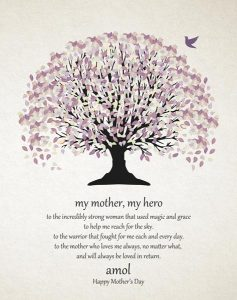 Read more about the article Custom Mother's Day Gift Art Proof for Meena N.