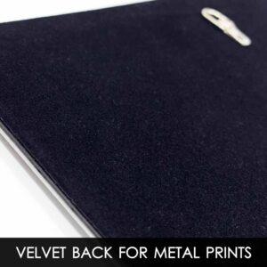 10×12 Velvet Back