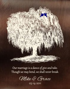Personalized 9 Year Anniversary Gift Custom Art Proof for Michael N.