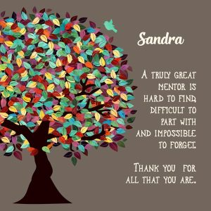 Read more about the article Custom Mentor Gift Art Proof for Sandra B.
