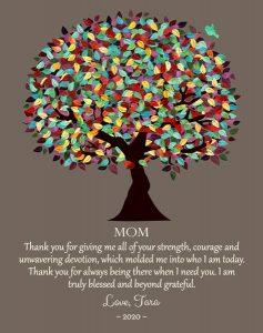 Custom Mother's Day Gift Art Proof for Tara M
