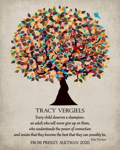 Read more about the article Custom Gift for Teacher Art Proof for Tracy V.