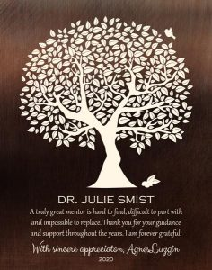 Custom Art Proof for Dr. Julie S.