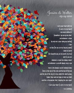 Custom Wedding Day Gift Art Proof for Jessica K.