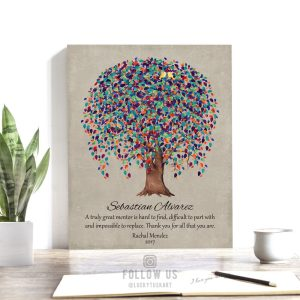 Truly Great Mentor, Personalized Gift For Mentor, Lady Boss Gift Idea, Thank You Gift For Boss, Custom Art – Paper, Canvas or Metal WWT 1509