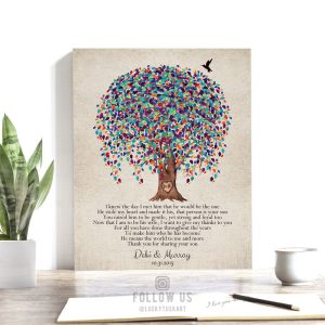 Mother of the Groom Gift, Gift From Bride, Watercolor, Weeping Willow Tree, Personalized, Poem, Mother In Law, Custom Art Print  WWT 1517