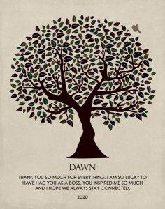 Custom Mentor Gift Art Proof for Dawn M.