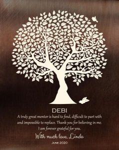 Custom Mentor Gift Art Proof for Debi G.
