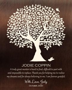Custom Mentor Gift Art Proof for Jody C.