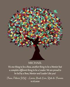 Custom Mentor Gift Art Proof for Michael U.