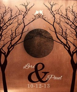 Personalized 7 Year Anniversary Gift Custom Art Proof for Paul H.