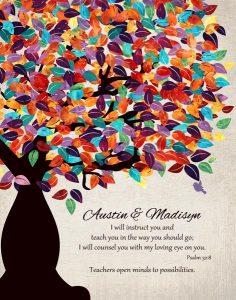 Custom Gift for Teacher Art Proof for Patricia B.