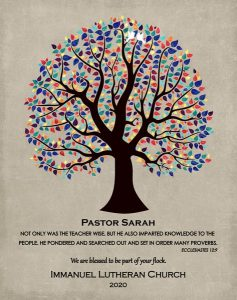 Custom Pastor Gift Art Proof for Vikie M.