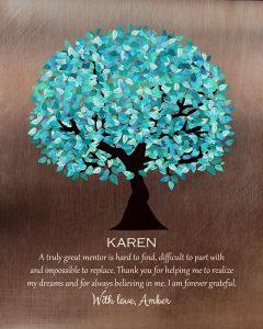 Custom Mentor Gift Art Proof for Amber C.