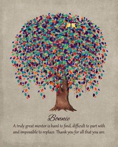Custom Mentor Gift Art Proof for Bonnie B.