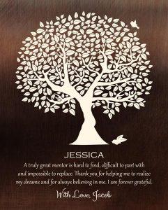 Custom Mentor Gift Art Proof for Jacob M.