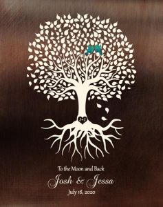 Read more about the article Custom Wedding Day Gift Art Proof for Josh P.