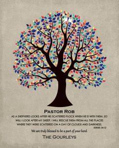 Custom Pastor Gift for Lisa G.