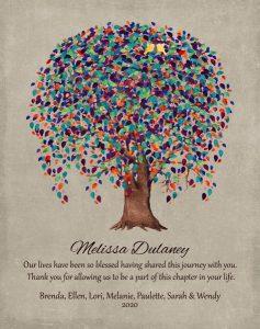 Custom Mentor Gift Art Proof for Melanie J.