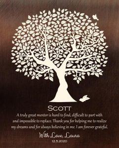 Custom Mentor Gift Art Proof Scott S.