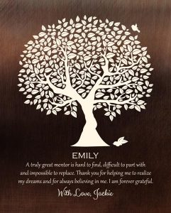 Custom Mentor Gift Art Proof for Emily W.