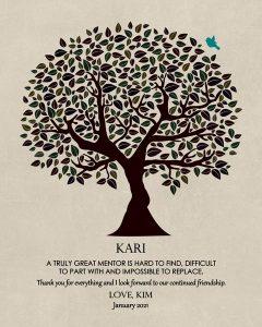 Custom Mentor Gift Art Proof for Kari B.