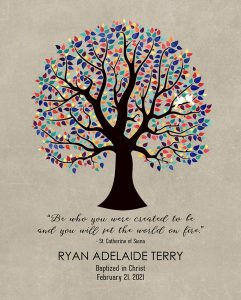 Read more about the article Custom Confirmation Communion Art Proof for Dylan T.