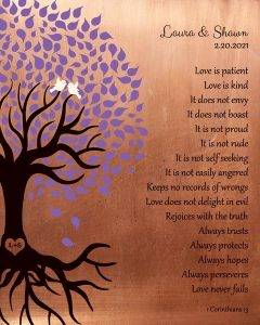 Personalized 7 Year Anniversary Gift Custom Art Proof for Shawn A.