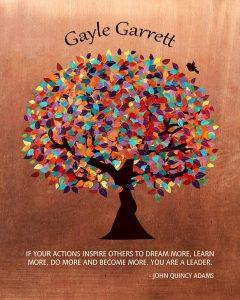 Custom Mentor Gift Art Proof for Gayle G.