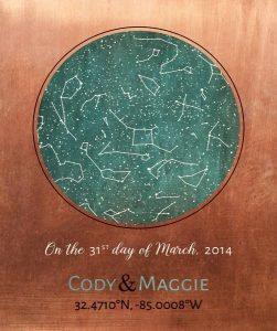 Personalized 7 Year Anniversary Gift Custom Art Proof for Maggie R.