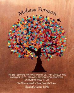 Custom Mentor Gift Art Proof for Melissa P.