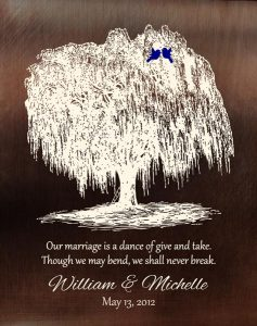 Personalized 9 Year Anniversary Gift Custom Art Proof for Michelle H.