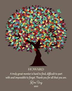 Read more about the article Custom Mentor Gift Art Proof for Howard B.